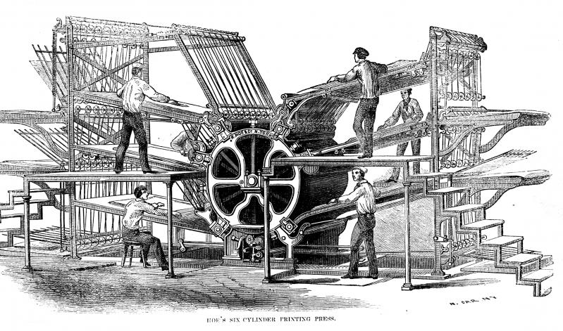 Hoe's_six-cylinder_press